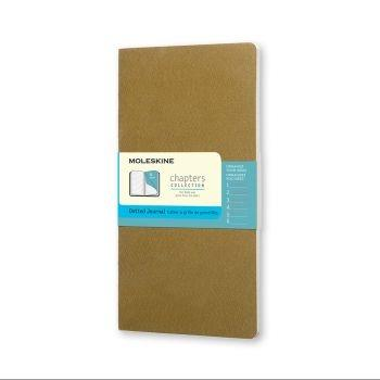 Moleskine Chapters M Dotted Tawny Olive Cpt064K10