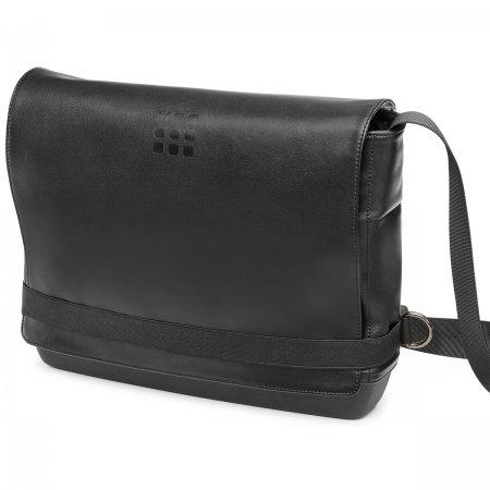 ET76UMSSBK CLASSIC SLIM MESSENGER BAG BLACK