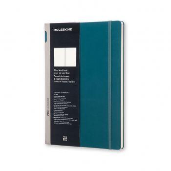 Moleskine Workbook Plain A4 Hard Tide Green