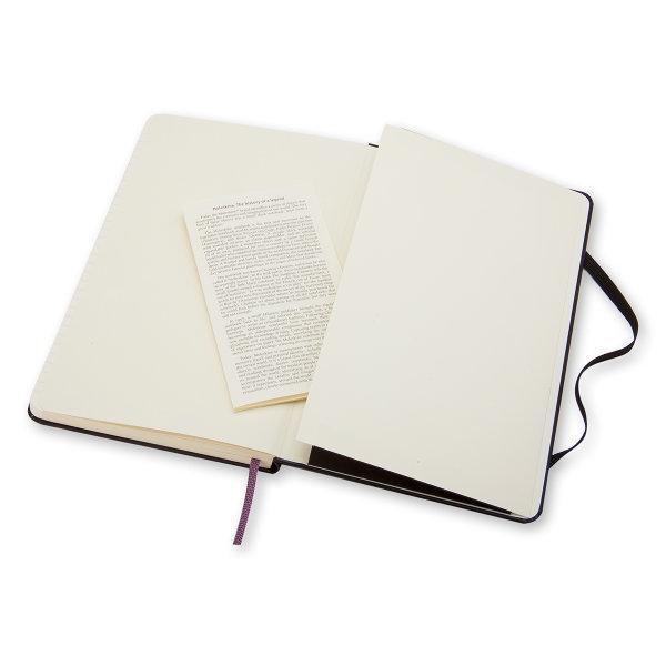 Moleskine สมุดบันทึก ปกแข็ง สีดำ ขนาดเล็ก 9x14 ซม MOLESKINE NOTEBOOK POCKET HARD COVER BLACK 9X14 CM