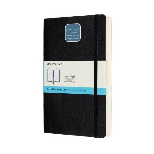 QP060EXP NOTEBOOK EXPANDED LG RULED BLACK HARD COVER