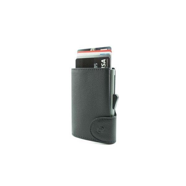 C-SECURE RFID Classic Wallet Black/ Grey Card holder