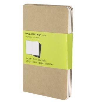 Moleskine Cahier Journals Pkt Plain Kraft Qp413