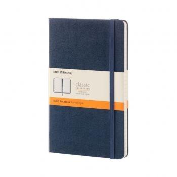 QP060B20 NOTEBOOK LARGE RULED SAPPHIRE BLUE HARD COVER