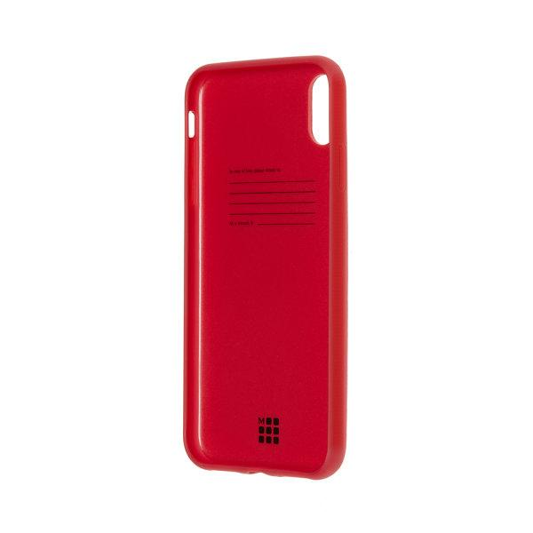MOLESKINE CLASSIC SOFT-TOUCH HARD CASE iPHONE XS MAX - SCARLET RED