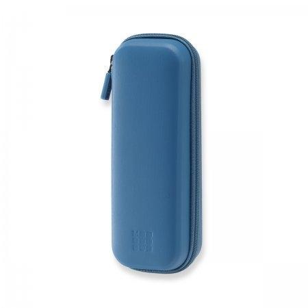 MOLESKINE JOURNEY PEN POUCH HARD STEEL BLUE