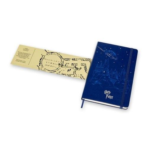 Moleskine Limited Edition Notebook Harry Potter Lg Ruled Royal Blue #02