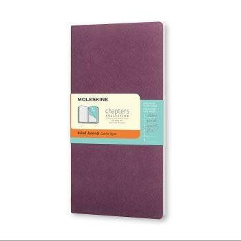 Moleskine Chapters M Ruled Plum Purple Cpt061H8