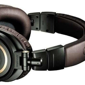 Audio Technica Professional Monitor Headphones M50x (Dark Brown)