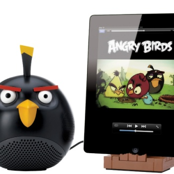 Gear4 Angry Birds Speaker Black Bird