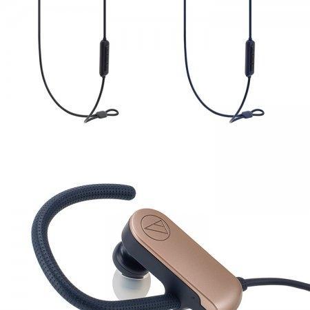 Audio-Technica หูฟังบลูทูธ รุ่น ATH-SPORT70BT