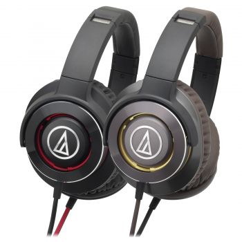 Audio-Technica ATH-WS770IS SOLID BASS HEADPHONES