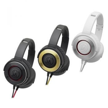 Audio-Technica ATH-WS550IS SOLID BASS HEADPHONES