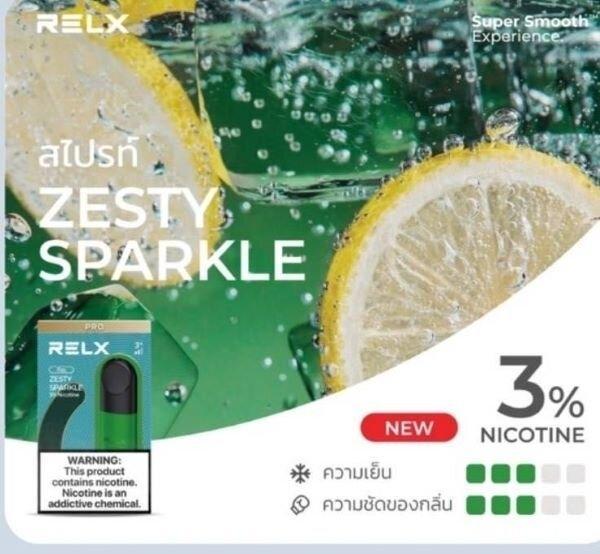 * RELX Infinity Pod Sprite Lemon Soda 3% [1 ชิ้น/กล่อง]