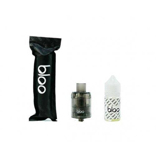 น้ำยาบุหรี่ไฟฟ้ามาเล Bloo lovin mangopie 30ml Nic3 + อะตอมสำเร็จ 24mm ใช้แล้วทิ้ง