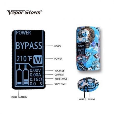 *Vapor Storm Puma Box Mod 200w [แท้] [ใช้ถ่าน 2ก้อน ซื้อแยก]