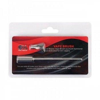 Coil Master Vape Brush เป็นทั้งแท่งพันคอยล์และแปรงทำความสะอาดคอยล์