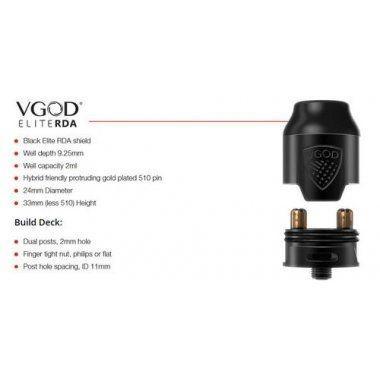 บุหรี่ไฟฟ้า VGOD Pro Mech 2 Kit 24mm Clone