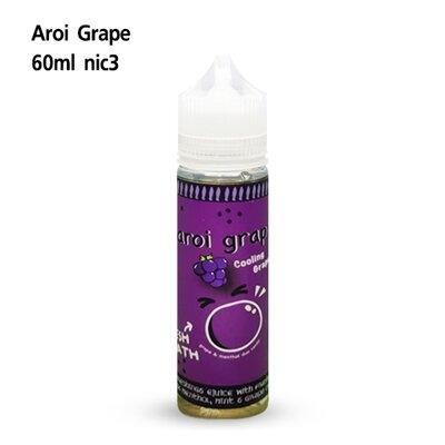 F Aroi Grape Cooling Grape 60ml Nic3 เย็น[น้ำยาฟรีเบส]