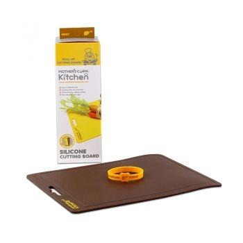 Silicone Cutting Board Brown