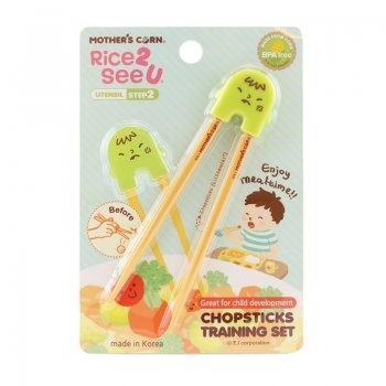 Chopsticks Training Set Green
