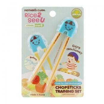Chopsticks Training Set Blue
