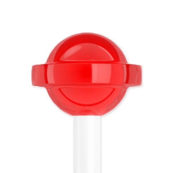 OMMO Candy Tongue Cleaner Strawberry Red