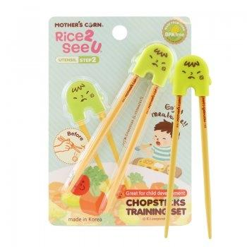 Chopsticks Training Set Green