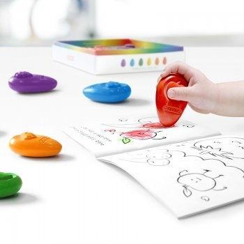 OMMO Baby Crayons 6 Color Set สีเทียนปลอดสารพิษ ชุด 6 สี