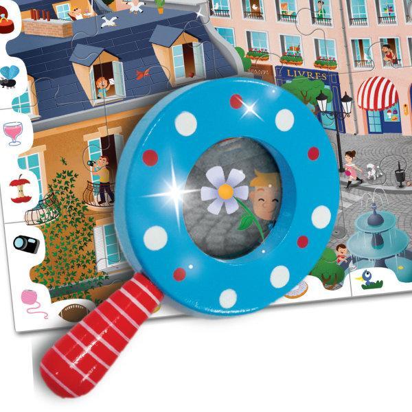 Ludattica Detective Puzzle 108Pcs The City