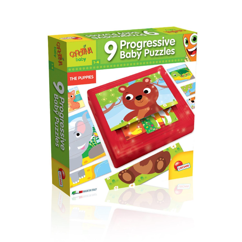 CAROTINA Baby Progressive Puzzle Puppies