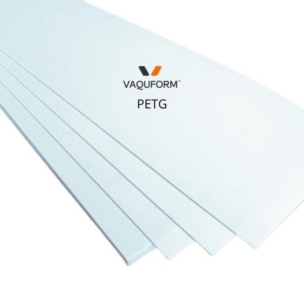 แผ่นพลาสติก PETG ใส ขนาด 330 x 250 มิลลิเมตร
