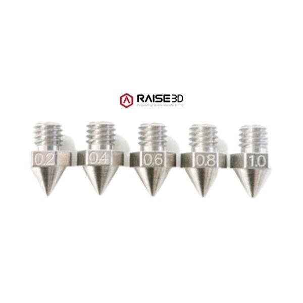 หัวฉีดชุบแข็งสำหรับ Raise3D Pro 2 Series