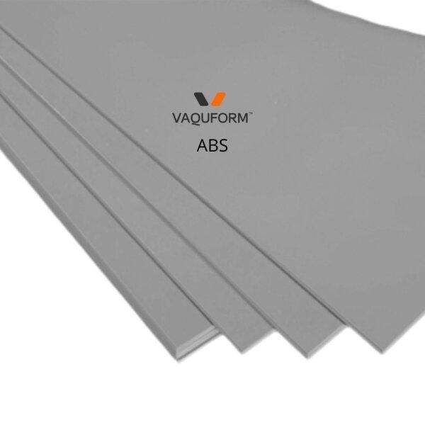 แผ่นพลาสติก ABS สีเทา ขนาด 330 x 250 มิลลิเมตร