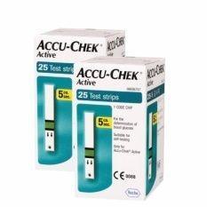 แถบตรวจน้ำตาล ACCU-CHEK Active