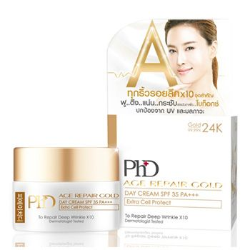 PhD Age Repair Gold Day Cream SPF35 PA+++ 15ml.
