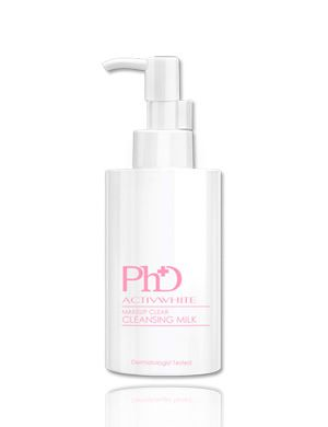 PhD ActivWhite Makeup Clear Cleansing Milk 200ml.