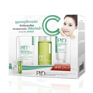 PhD Advanced Acne Pore-Tightening Set (foam30+toner50+cream15)