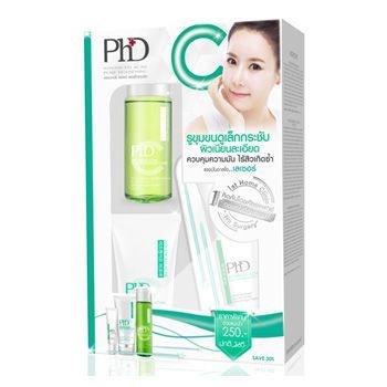 PhD Advanced Acne Pore-Tightening Set (โฟม 10 มล., โทนเนอร์ 15 มล., ครีม 5 มล.)