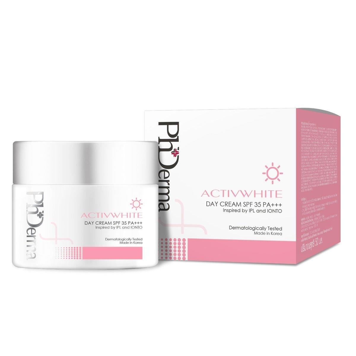 PhDerma Activwhite Day Cream SPF 35 PA+++ 50 ml.