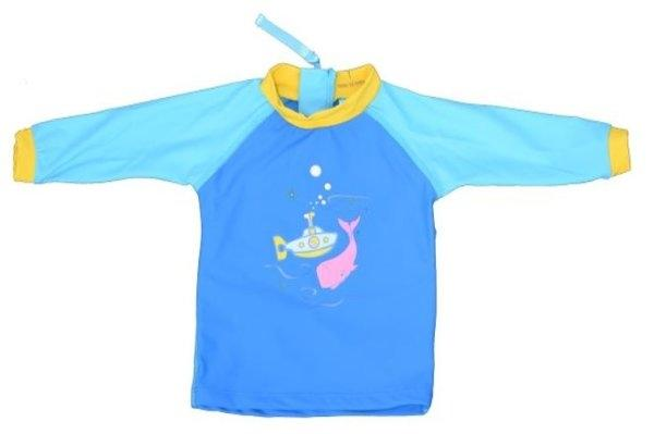 เสื้อว่ายน้ำกัน UV50+ รุ่น Swim Tee Baby Blue (WTC-WA-108-03)