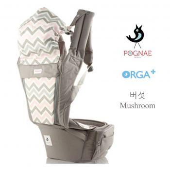 เป้อุ้มเด็ก POGNAE ORGA Plus - Mushroom