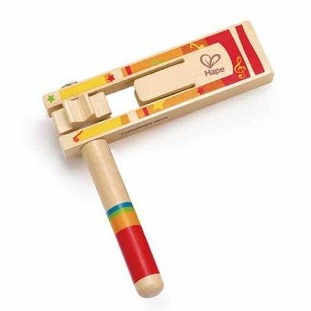 ของเล่นไม้ ของเล่นเครื่องดนตรี Hape Happy Noisemaker[DS]