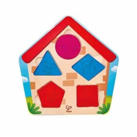 ของเล่นไม้ Hape Who's in The House Puzzle[DS]