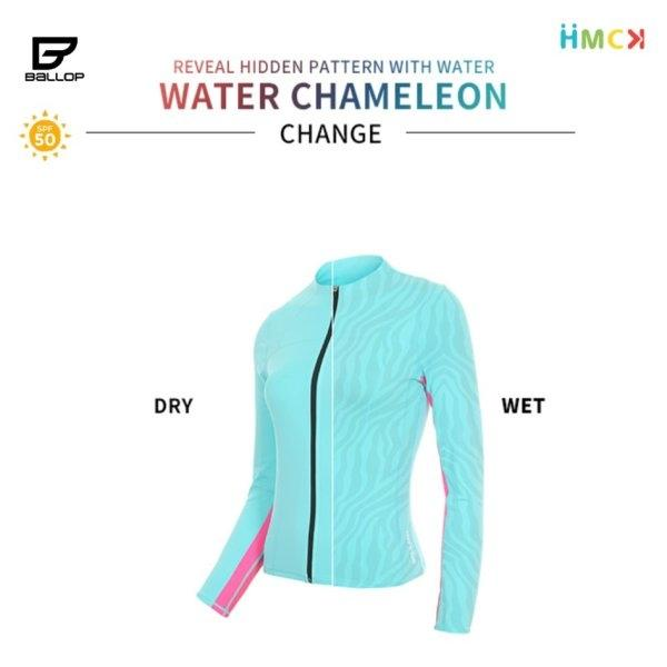 ชุดว่ายน้ำ Lady Water Chameleon Change Mint Ballop [Stocked]