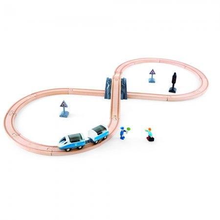 ของเล่นไม้ Hape Figure of 8 Safety Set เซตของเล่นเครื่องหมายปลอดภัย[DS]