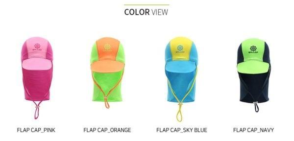 Ballop หมวกคลุมต้นคอว่ายน้ำเด็ก Flap Cap (Stocked)