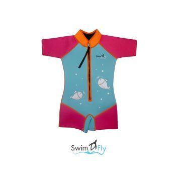 ชุดว่ายน้ำ SWIMFLY รุ่น Imaginary ลายปลาวาฬ - XXS-XXL