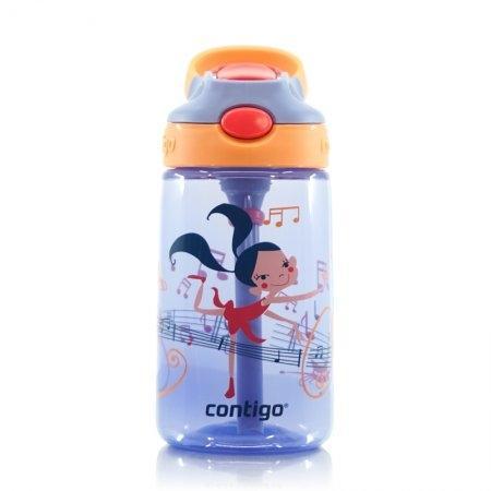 กระติกน้ำเด็กพร้อมหลอดดูด Contigo รุ่น GIZMO FLIP BALLET GIRL[DS]