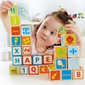 ของเล่นไม้ Hape ABC Blocks[DS]